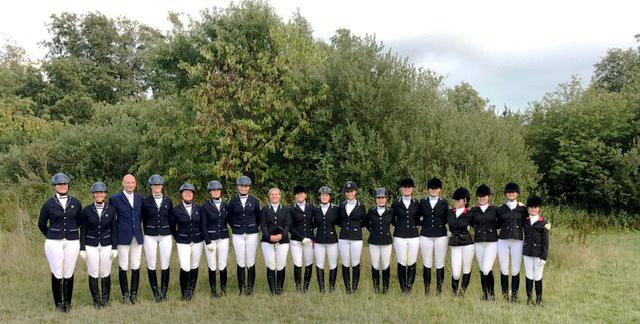 RuFV Husbyharde - unsere Quadrillemannschaft